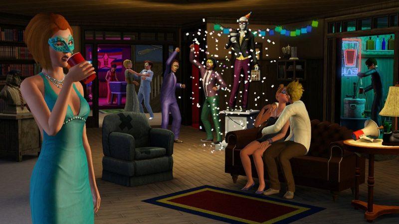 The Sims 3 для изучения психопатов