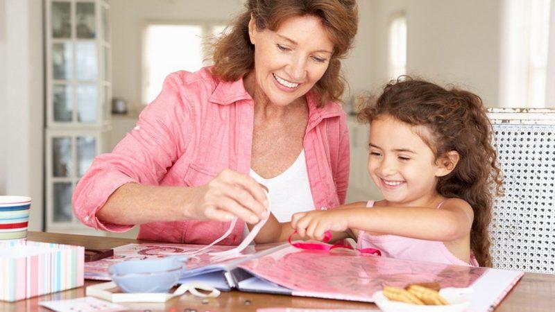 Скрапбукинг для детей – важность и советы