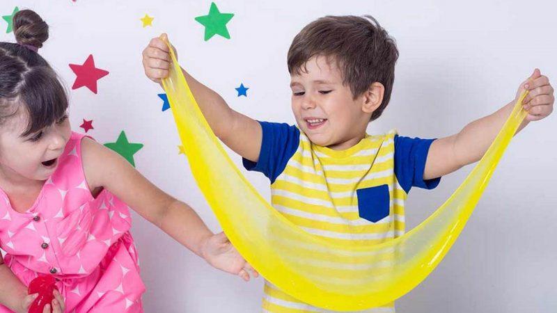 Легкие рецепты слаймов без буры, подходящие для детей