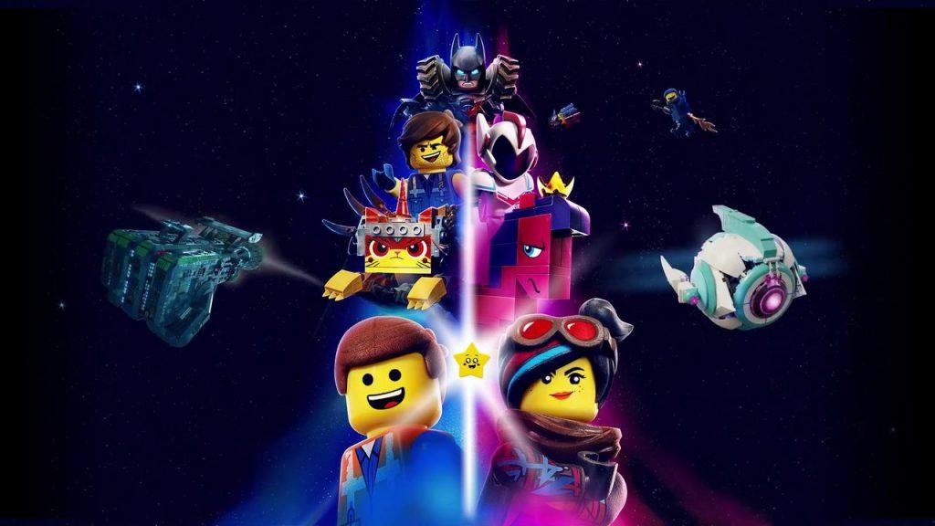 Лего Фильм 2 обложка арт главные герои